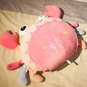 Creative crabe jouet drôle oreiller en peluche personnalité oreiller chiffon poupée fille poupée rose 40 cm (lizhaowei531045832, neuf)