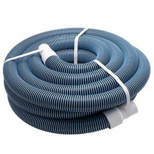 vhbw Tuyau Flexible pour Piscine raccord 38mm 11m pour Skimmer, aspirateur, Filtre - stabilisé UV, résistant au Chlore (ElectroPapa, neuf)
