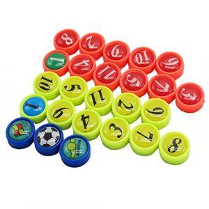 Lot de 26mini, parfait pour tactique football Boards, bureau, tableau blanc magnétique, réfrigérateurs, cartes & Tableaux aimantés (BizoeRade.eu, neuf)