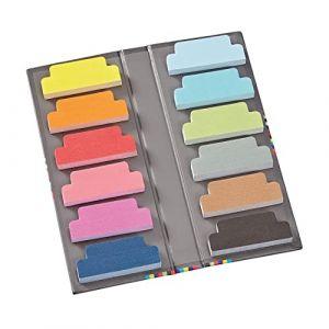600 Sticky Tab Markers +++ Blatt Haftnotizblätter (liniert) +++ ZUBEHÖR für Semikolon FOTOABLEN & -BÜCHER +++ Semikolon Qualität (meinnotizbuch, neuf)