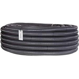 HOLZBRINK Tuyau d'Aspiration et de Refoulement 32 mm (1 1/4''), Tuyau Spiralé en PVC Renforcé pour Etangs, Longueur: 10 m, HVS-03-10 (Jumbo-Shop, neuf)