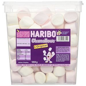 Haribo Tubo Chamallow l'Original x 210 1050 kg - Lot de 2 (marlie distribution, neuf)