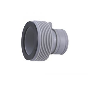 Lot de 2 adaptateurs B pour piscine Intex - Raccorde les piscines jusqu'à 457 cm avec le tuyau à vis Intex pour les grands systèmes de filtration (Poolomio, neuf)
