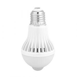 Ampoule de détecteur de mouvement PIR - E27 Détection intelligente Détecteur de mouvement infrarouge PIR Ampoule LED (Wattage : 9W) (Dewinshop, neuf)