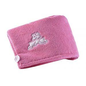 Capuchon de douche à séchage rapide, épaississant, Peach Blossom Pink (Black Temptation UK, neuf)