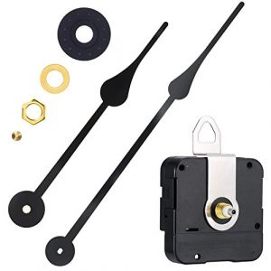 Willbond Mouvement de l'horloge à Couple Élevé Mécanisme de Remplacement avec Aiguilles de l'horloge pour Ajustement des Cadrans Jusqu'à 56 cm/ 22 Pouces de Diamètre (BOAO Network, neuf)
