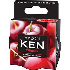 AREON Ken Désodorisant Voiture Cerise en Pot Maison Couvercle Ventilé Réglable 3D (Cherry Lot de 2) (My_Beauty_Box, neuf)