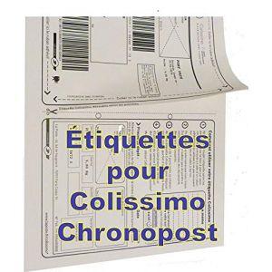 500 feuilles a4 étiquette expedition Colissimo - Chronopost - UPS - adapté pour FBA --expédié par Amazon (solutions-imprimerie, neuf)