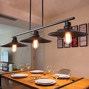 Meters Retro Industriel Vent Lustre Restaurant Lampe Billard Table Bar Creative 3 lustres (Gweat Home Deco, neuf)