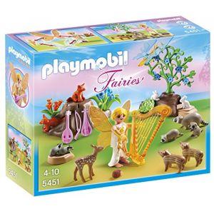 Playmobil 5451 - fairies Fée de la musique avec animaux de la fôret (PLAYMYPLANET, neuf)