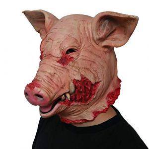 Halloween horreur masque mascarade tête de cochon masque Cosplay Costume des animaux Le masque de latex Costumes des animaux (Yue1992, neuf)