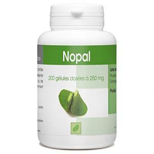 Nopal - Opuntia Ficus Indica - Figuier de Barbarie - 250 mg- 200 gélules (123PLANTES, neuf)
