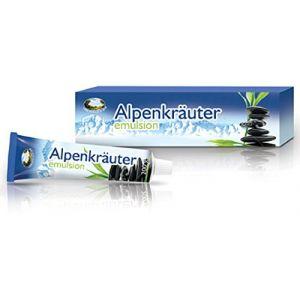 "POMMADE ANTI DOULEURS AUX HERBES ALPINES ""Alpenkräuter Emulsion"" Confort musculaire et articulaire 200ml -EFFET CHAUFFANT- (NATURICINALE, neuf)"