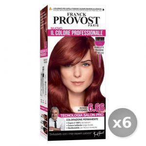 Set 6 PROVOST Colorant Pour les cheveux Coloration 6.66 Rouge Intense (Glooke, neuf)