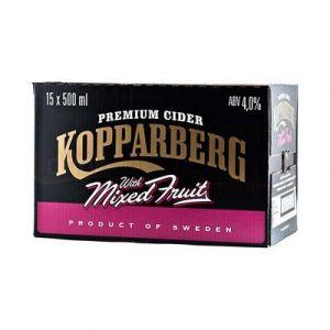 Kopparberg - Mixed Fruit - Premium Swedish Cider - 15x500ml Bottles (shaina's shop, neuf)