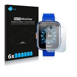 Savvies Film Protection d'écran pour Vtech Kidizoom Smart Watch DX2 [6 Pièces] - Transparent (protectionfilms24 France, neuf)