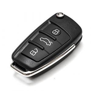 Clé Key Cover Étui Étui Coque télécommander pour Audi A2 A3 A4 A6 A6L A8 TT (F Season, neuf)