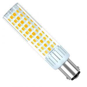 SEAMI B15D Ampoule LED Dimmable Douille à baïonnette 8.5W Équivalent halogène Ampoule 100W 90-265V Blanc Chaud 3000K Lampe de machine à coudre(1 paquet) (seami, neuf)