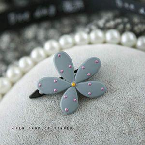 Coiffure Enfant Boucles D'oreilles Fleur Polka Dot Princesse Bord Clip Fille Bébé Bangs (xulingfengsfs, neuf)
