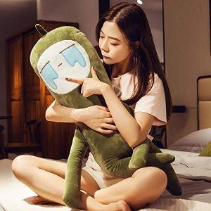 Oreiller de carotte super doux mignon poupée en peluche oreiller sommeil anniversaire cadeau-vert concombre qui pleure_55cm (lizhaowei531045832, neuf)
