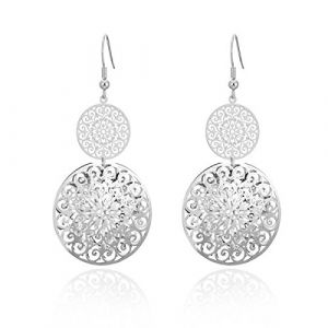 Ouran Femme Mixte Enfant Homme gold and silver plated copper Ronde Incolore Oxyde de Zirconium (Styde-EUR, neuf)