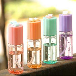 Bouteille vide de couleur aléatoire de voyage 1 pcs Transparent 35 ml Vaporisateur de Voyage Transparent Plastique Parfums Atomiseur aléatoire (WATOTUDEWEHALU, neuf)