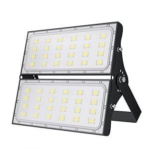 200W Projecteur LED, Spot Led Extérieur Puissant 20000LM, IP65 Étanche Eclairage Extérieur Sécurité Lampe LED, Blanc Chaud 3000K Spot LED, Lumière d'inondation pour éclairage Public Garage Jardin (loyalparts, neuf)