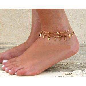 Jovono pendantes de plage Bracelet de cheville Pied Chaine de cheville pour les femmes et les filles (Jovono, neuf)
