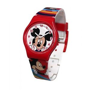 Montre Enfant Disney Minnie Mickey Mouse Donald Dingo (licence team, neuf)