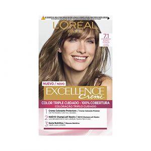 Coloration Excellence Crème 7.1Blond cendré de protection renforcé de l 'Oréal Paris (DreamBoX, neuf)
