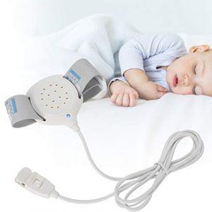 Alarme d'énurésie nocturne pour les enfants et les personnes âgées, capteur d'urine d'alarme d'énurésie nocturne avec voix et vibrations légères pour garçons, filles, énurésie nocturne, dormeurs profo (riuty, neuf)