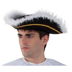 Fycar Tricorne Pirate Marquis Homme (youpi store, neuf)