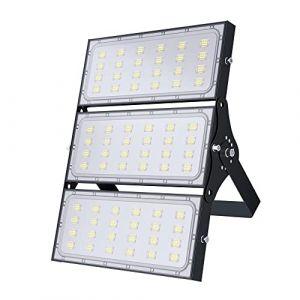 300W Projecteur LED, Spot Led Extérieur Puissant 30000LM, IP65 Étanche Eclairage Extérieur Sécurité Lampe LED, Blanc Chaud 3000K Spot LED, Lumière d'inondation pour éclairage Public Garage Jardin (loyalparts, neuf)
