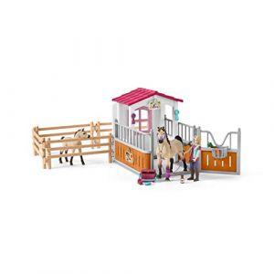 Schleich - 42369 - Kit - Box avec Chevaux Arabes/Soigneuse de Chevaux (Fun Collectables, neuf)