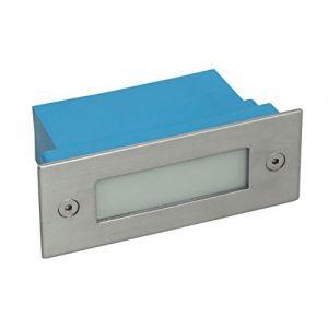 Applique led exterieur encastrable rectangulaire 1.5 watt - IP54 - Couleur eclairage - Blanc neutre (1WattShop-de - hochwertige LED-Beleuchtung, neuf)