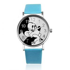 HWCOO Belle Montre Bracelet Montre Mickey Mouse à la Mode pour Femmes (Color : 1) (HWCOO Store, neuf)