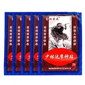 MQ Patch Anti-Douleur Chauffant Soulager Douleur Musculaire Lombaire Dos Traitement Arthrite Rhumatisme Périarthrite en Baume Chinois Traditionnel à Base de Plantes (Lumière Sept, neuf)