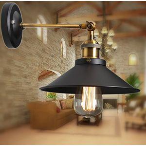 Métal Plafonniers Retro Lustres Lampe Edison Culot E27 Vintage Murale Applique Réglable Luminaires Plafonnier Suspension Industrielle Chambre Applique (WanLianInc, neuf)