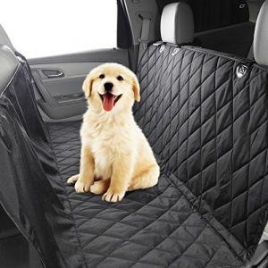 Screl Housse de protection de siège pour Chien, Chat, animal domestique, toile imperméable 147*137 cm pour voiture, coffre (Screlify, neuf)