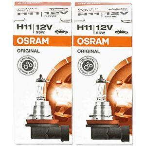 Osram 64211X H1155W/High Tech Durée de vie de l'ampoule halogène de voiture ampoule lampe Lot de 2UV-Filter OEM NEUF dans son emballage d'origine (E-COMMERCE COPPOLA, neuf)