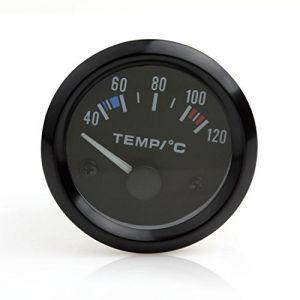 Indicateur de température du liquide de refroidissement de voiture universel 5,1cm 12V 40–120LED Blanc (ePath Direct, neuf)