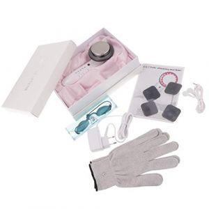 Tubayia Appareil de massage à ultrasons LED pour le visage, diluant, acné, élimine les rides (Tubayia, neuf)