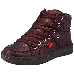 Lowell, Sneakers Haute Fille, Bordeaux, 29 (Kickers&Co, neuf)