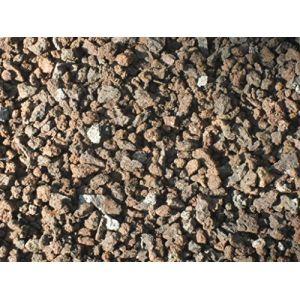 25 kg Pierre de lave 1-5 mm Granulés pour plantes Mulch de lave (Der-Naturstein-Garten, neuf)