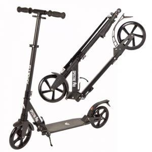 Apollo XXL Wheel Scooter 200 mm - Spectre Pro Noir est Un Trotinette City Scooter de à Double Suspension, XXL City-Roller Pliable et réglable en Hauteur, Trottinette (geschenk-kiosk, neuf)