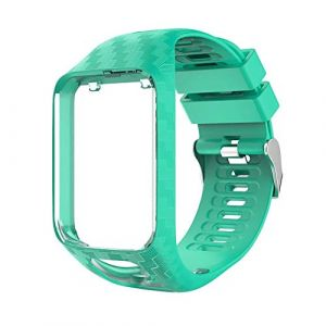 Alinsea Bracelet Tomtom Adventurer Montre?Compatible Tomtom Runner 2 / Runner 3 / Spark 3 Bracelet de Montre de Sport Universel de Remplacement (Vert Menthe) (Dalinch FR Direct, neuf)