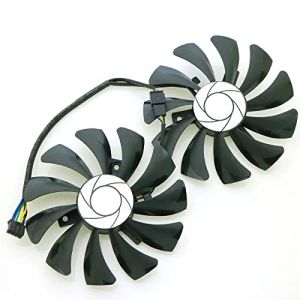 HA9010H12F-Z Graphics Card Cooling Fan pour MSI GeForce GTX 1050Ti 2G 4G 1060 3G 6G OC Video Card Fans (iHaospace, neuf)