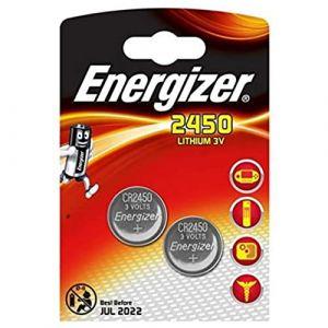 LOT DE 6 PILES ENERGIZER CR2450 - 3 BLISTER DE 2 - LITHIUM 3V (dEcolectrix, neuf)