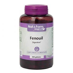 Fenouil Semence 200 Gélules - Nat Et Form - Atlantic Nature (Santilico, neuf)