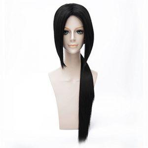 LanTing Cosplay Perücke Naruto Uchiha Itachi Black/APH Wang Yao Black Styled Frauen Cosplay Party Fashion Anime Human Costume Full wigs Synthetic Haar Heat Resistant Fiber (LANTING TRADE EXPORT LTD, neuf)